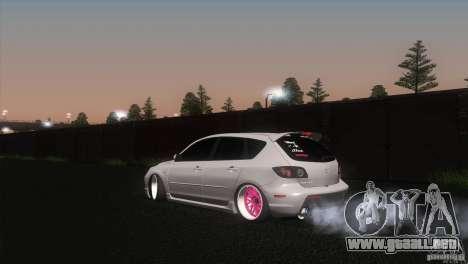 Mazda MazdaSpeed 3 para GTA San Andreas left