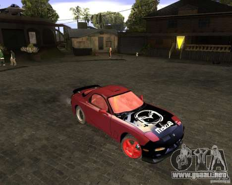 Mazda RX-7 Drifter para GTA San Andreas left