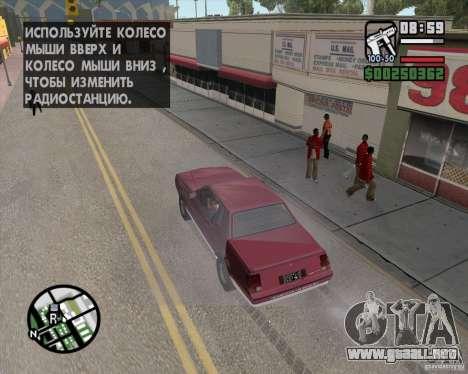 L.A. Mod para GTA San Andreas tercera pantalla