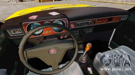 Taxi Gaz-3102 para GTA 4 vista interior