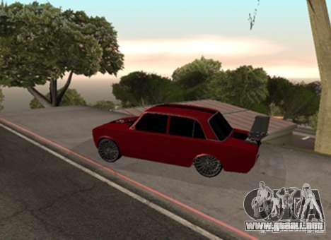 VAZ 2101 Drag para la visión correcta GTA San Andreas