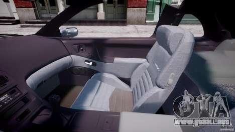Nissan 300 ZX 1994 v1.0 para GTA 4 vista interior