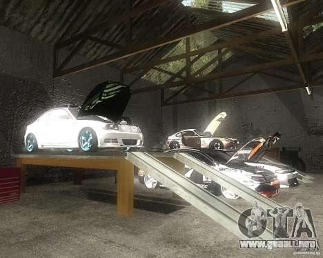 BMW 135i Hella Drift para vista lateral GTA San Andreas