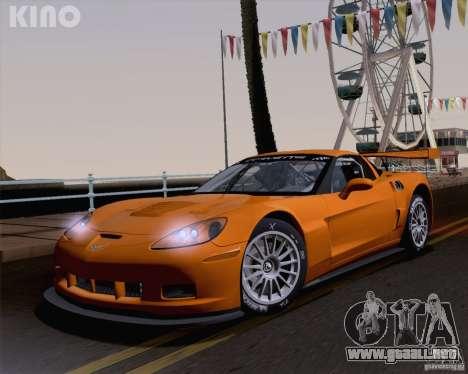 Chevrolet Corvette C6 Z06R GT3 v1.0.1 para GTA San Andreas interior