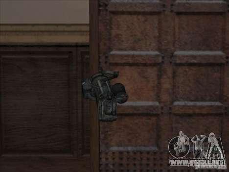 Ametralladora de Gears of War para GTA San Andreas segunda pantalla