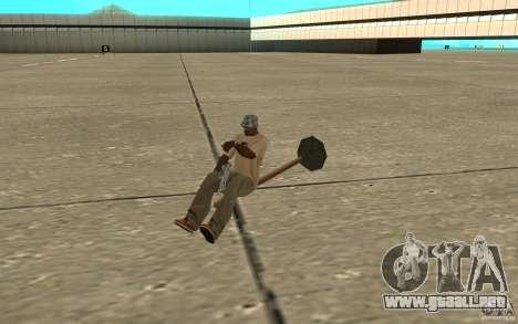 Flying Broom para GTA San Andreas left