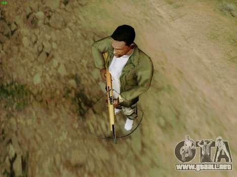Una trabajo ballesta con flechas para GTA San Andreas quinta pantalla
