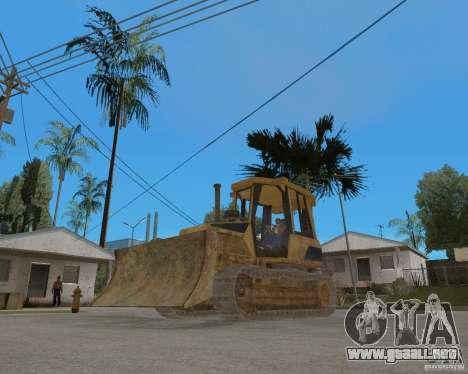 Bulldozer del COD 4 MW para la visión correcta GTA San Andreas