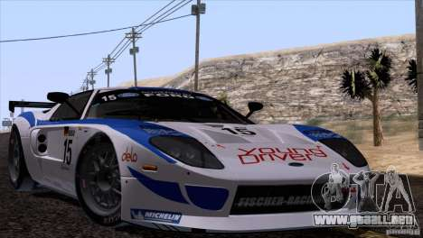 Ford GT Matech GT3 Series para GTA San Andreas left