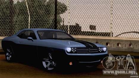 Dodge Challenger SRT8 para el motor de GTA San Andreas