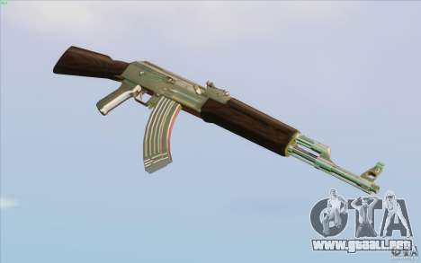 Low Chrome Weapon Pack para GTA San Andreas séptima pantalla