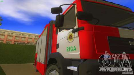 MAn TGL Riga FC para GTA San Andreas vista hacia atrás