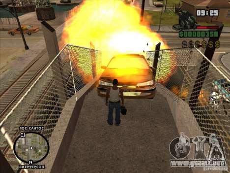 Explosivo C4 para GTA San Andreas sucesivamente de pantalla