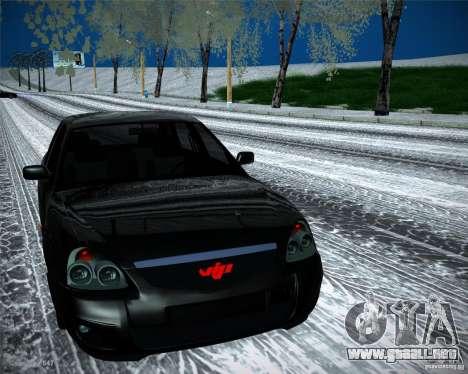 Lada Priora Vip Style para la visión correcta GTA San Andreas