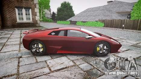 Lamborghini Murcielago v1.0b para GTA 4 left