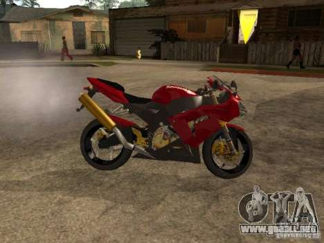 Kawasaki Ninja ZX 10R para GTA San Andreas left