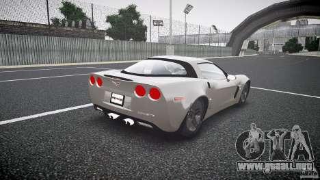 Chevrolet Corvette Z06 1.1 para GTA 4 vista lateral