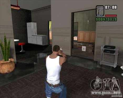 Colt 45 para GTA San Andreas tercera pantalla