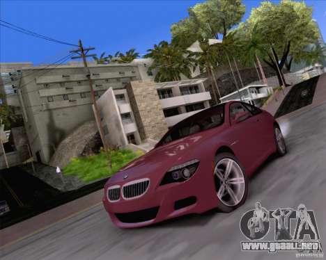 ENBSeries by Sankalol para GTA San Andreas segunda pantalla