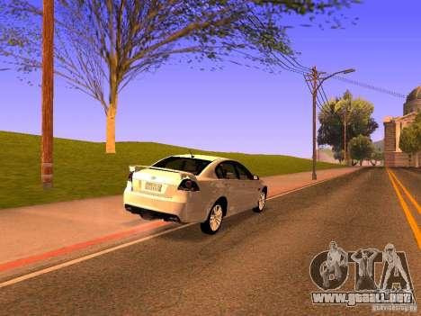 Chevrolet Lumina para GTA San Andreas left