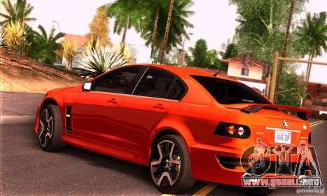 Holden HSV GTS para la visión correcta GTA San Andreas