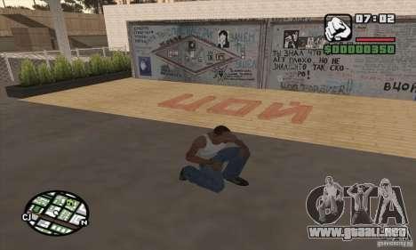 Pared Tsoi para GTA San Andreas tercera pantalla