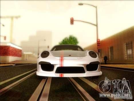 Porsche 911 Carrera S (991) Snowflake 2.0 para visión interna GTA San Andreas