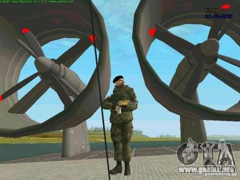 RF Marine para GTA San Andreas quinta pantalla