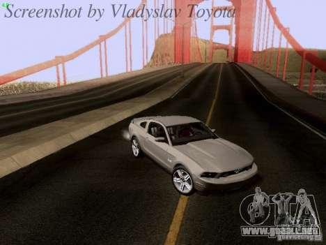 Ford Mustang GT 2011 para las ruedas de GTA San Andreas