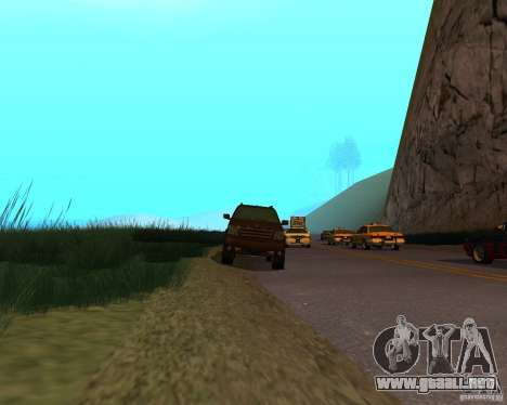 Cabalgata de GTA 4 para la visión correcta GTA San Andreas