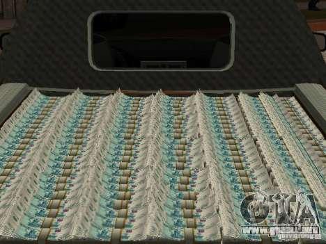LADA 2170 Pickup para visión interna GTA San Andreas