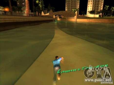 Nadar con la nueva animación para GTA Vice City segunda pantalla