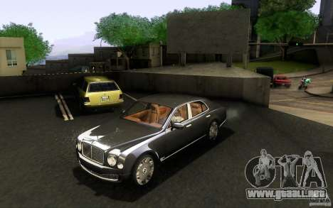 Bentley Mulsanne 2010 v1.0 para GTA San Andreas left