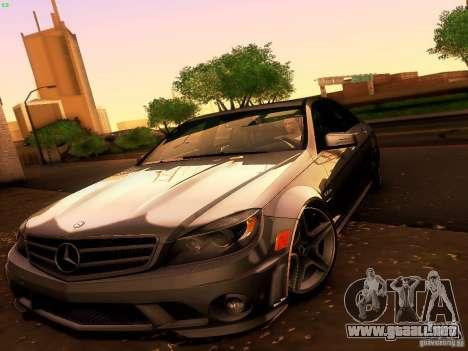 Mercedes-Benz C36 AMG para la vista superior GTA San Andreas