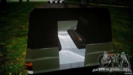 Chevrolet D20 Brigada Militar RS para GTA 4 vista superior