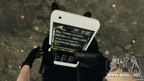 Samsung Galaxy S2 para GTA 4 sexto de pantalla