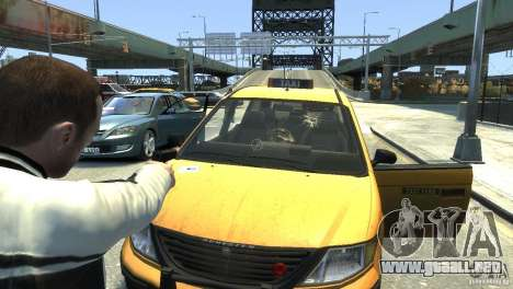 New Glass Effects para GTA 4 tercera pantalla