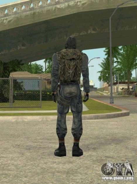 Agrupación de mercenarios de un acosador para GTA San Andreas