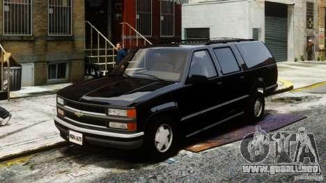 Chevrolet Suburban GMT400 v1.1 para GTA 4