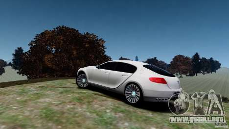 Bugatti Galibier 2009 para GTA 4 left