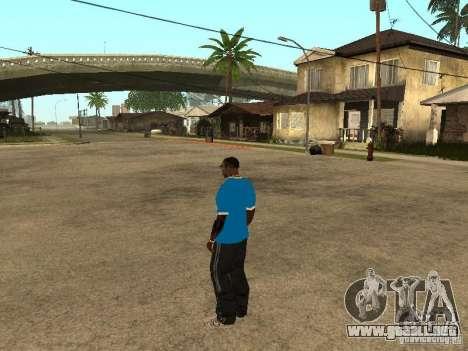 Mike Zenith para GTA San Andreas sucesivamente de pantalla