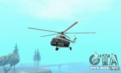 MI-17 civiles (Ucraniano) para GTA San Andreas