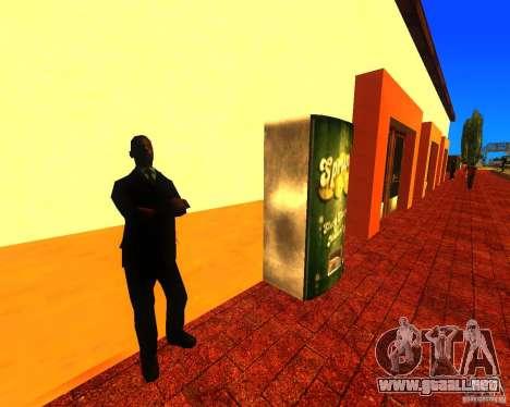 Una bulliciosa estación de tren en Los Santos para GTA San Andreas tercera pantalla