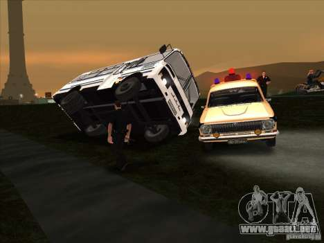 Siéntate y salir de cualquier máquina para GTA San Andreas segunda pantalla