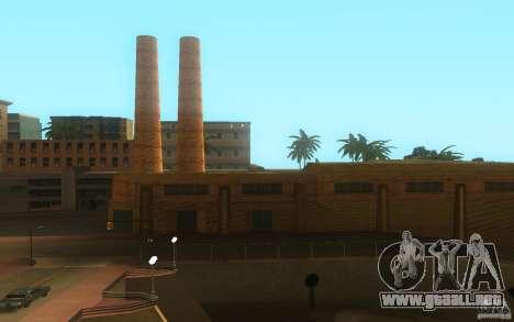 Nuevas texturas en Los Santos para GTA San Andreas segunda pantalla