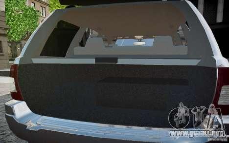 Jeep Grand Cheroke para GTA motor 4