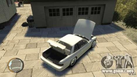 Nissan Silvia s13 Drifted v1.0 para GTA 4 visión correcta