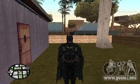 Dark Knight Skin Pack para GTA San Andreas segunda pantalla
