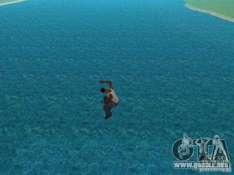 Agua de textura para GTA San Andreas tercera pantalla