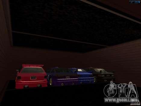 Nuevo garaje en San Fierro para GTA San Andreas segunda pantalla